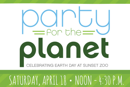 Sunset Zoo's Earth Day