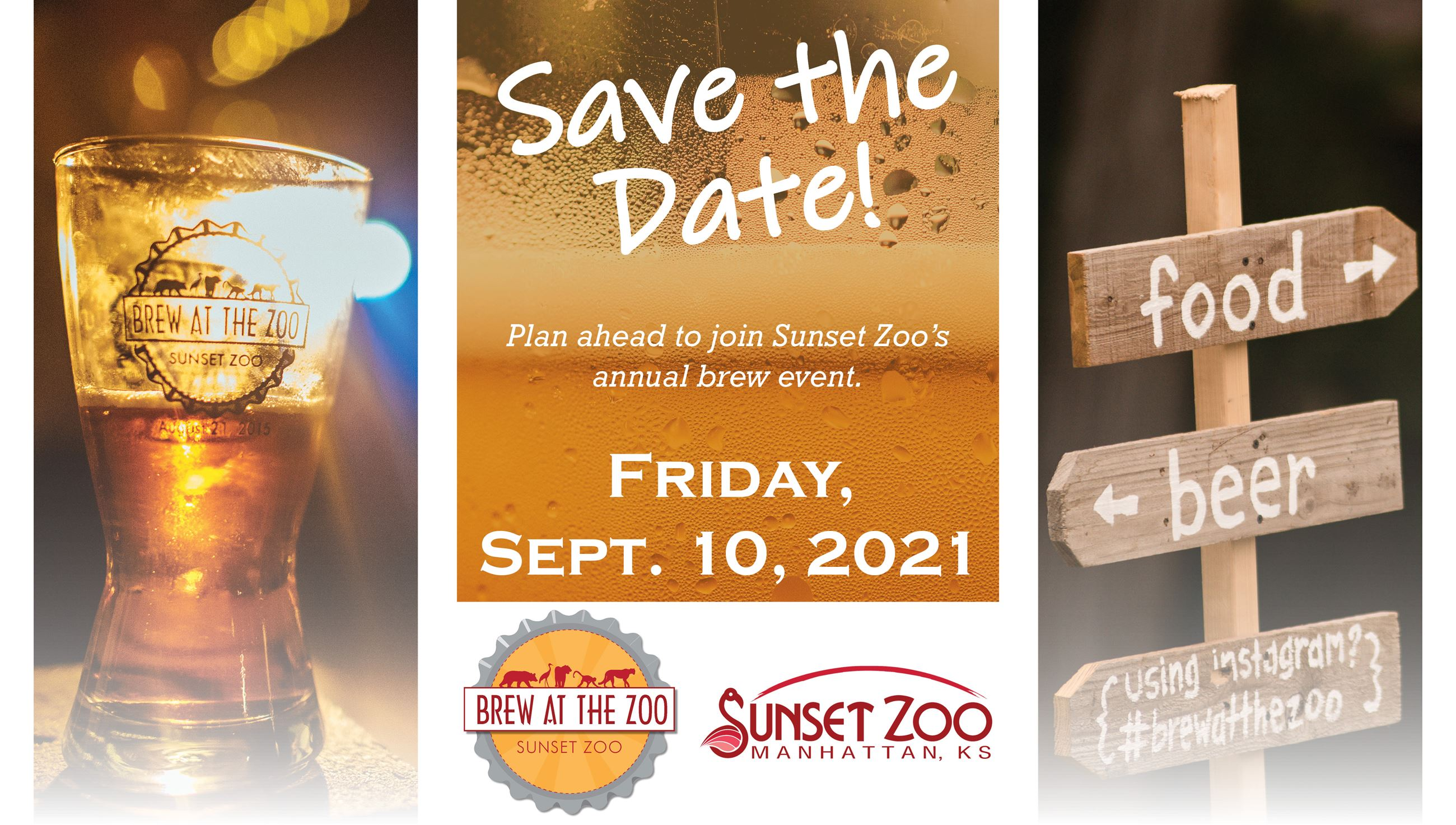 Brew at the Zoo 2021 Save the Date